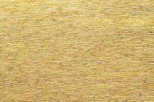Бумага гофрированная металл Италия 50см х 2,5м 140г/м цв.911 золото