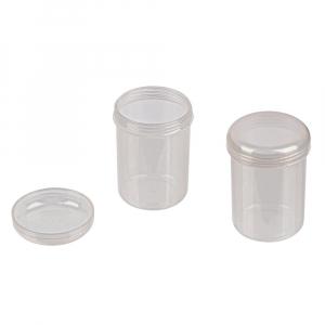 """Коробки для рукоделия   """"Gamma""""   Туба   пластик   T-062 прозрачная"""