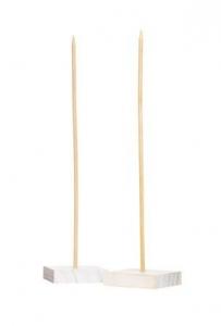 Подставка-держатель для кукол деревянная 8*35см*2шт