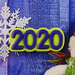 "Пластиковая форма ""2020"""