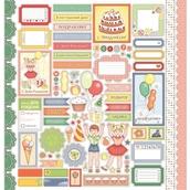 """Бумага """"С Днем Рождения!"""" Карточки Это твой день! 30,5х30,5 см"""