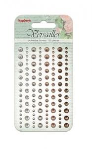 Клеевые полужемчужинки, 120 шт, 4 цвета, Версаль 2
