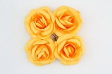 Розы, 4 шт. 5см желтые