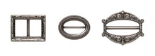 Набор застежек, античное серебро