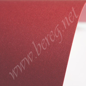 Дизайнерский картон SHYNE RUBY красный , 270г/м2,32*32