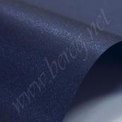 Дизайнерский картон SIRIO PEARL SHINY BLUE темно син, 270г/м2, 32*32