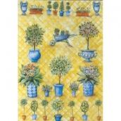 """Бумага для декупажа """"Цветущий сад"""", 100 г/кв.м, 50 x 70 см"""