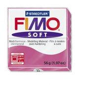 Пластика (в печке запекаемая масса) Fimo soft, малиновый брус, 56 гр