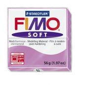 Пластика (в печке запекаемая масса) Fimo soft, лаванда брус, 56 гр