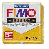 Полимерная глина, запекаемая в печке, FIMO Effect, золотой блеск брус, 56 гр