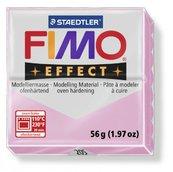 Полимерная глина, запекаемая в печке, пастельно-розовый, FIMO Effect Pastel Light Pink, 56 гр.