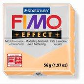 Полимерная глина, запекаемая в печке FIMO Effect Pastel Peach, персик, 56 гр.
