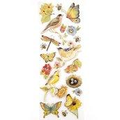 """Стикеры-украшения  Птицы, """"Секреты природы"""""""