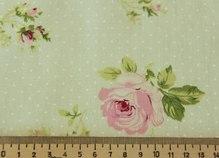 Ткань молоч с розами 50*150