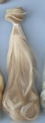 Трессы  вьющиеся BJD  15 см * 100 см блонд2 №12