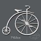 """Чипборд """"Велосипед №2"""""""