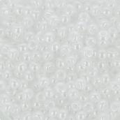 """Бисер Япония """"TOHO"""" 11/0 круглый 2 2.2 мм 5 г №0121 белоснежный/перл"""