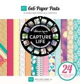 """Набор бумаги """"Capture Life"""", 24л, 15*15 см"""