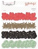 Пайетки набор 4 цвета по 200 штук Something Wonderful