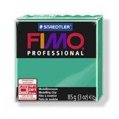 Полимерная глина, запекаемая в печке FIMO professional, чисто-зеленый, 85 гр.