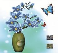 """Алмазная живопись """"Бабочки -2"""" 48*48см"""
