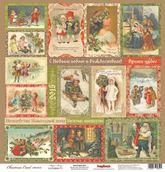 """Бумага """"Ночь перед Рождеством"""" Волшебная История 30,5х30,5 см"""