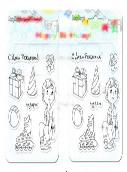 Набор штампов Подарки 10,5*10,5см