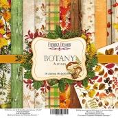 "Набор скрапбумаги ""Botany autumn"", 30,5x30,5см, Фабрика Декору"