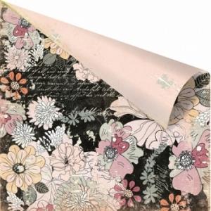 Бумага для скрапбукинга двусторонняя 30,5х30,5 см, серия RONDELLE, COTTILION