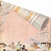 Бумага для скрапбукинга двусторонняя 30,5х30,5 см, серия RONDELLE, PAVANNE
