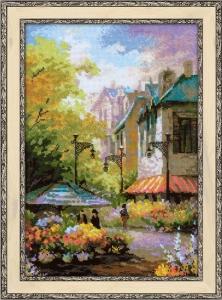 "Набор для вышивания ""Цветочная улица"" 26х38см"