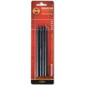 Набор чернографитных  карандашей Progresso  без дерева, блистер, европодвес