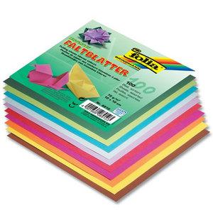 Цветная бумага для оригами диаметр 100л, 10цветов ассорти