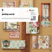 Набор бумажных акссесуаров  для создания  открыток