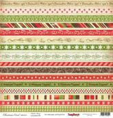"""Бумага """"Ночь перед Рождеством"""" Рождественская Сказка 30,5х30,5 см"""