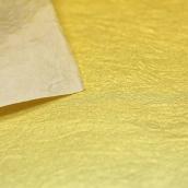 Рисовая бумага для декупажа фоновая Золотой, A3