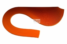 Бумага для квиллинга, 09 оранжевый, ширина 3 мм