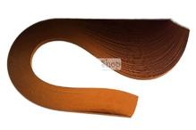 Бумага для квиллинга, 33 орех, ширина 3 мм