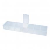 """Коробки для рукоделия   """"Gamma""""   Коробка  для шв. принадл.   пластик   ОМ-148  прозрачная"""