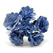 Декоративный букетик  светло-голубой