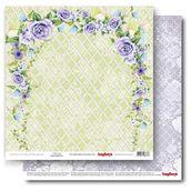"""Бумага двусторон """"Счастливый День"""" Цветущий сад, 30,5х30,5"""