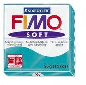 Пластика (в печке запекаемая масса) Fimo soft, салатовый брус, 56 гр