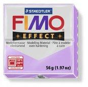Полимерная глина, запекаемая в печке, пастельно-лиловый, FIMOEffect Pastel Lilac, 56 гр.