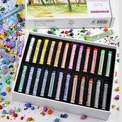 Набор профессиональной художественной пастели «Peroci», 24 цветов