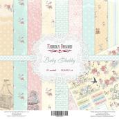 Набор бумаги «Baby Shabby» 30,5х30,5см, 10 листов