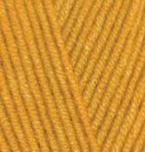 Пряжа Alize LANAGOLD цв. горчичный 5 мотков