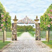 "Бумага односторон ""Цветущий Сад"" Прогулка в саду, 30,5х30,5"