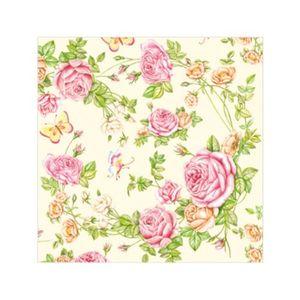Салфетка бумажная 25*25 см (3 слоя) Roses from my Garden