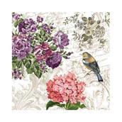 Салфетка бумажная 25*25 см (3 слоя) Charming Garden