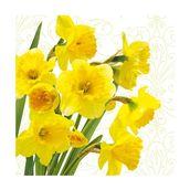 Салфетка бумажная 33*33 см (3 слоя) Yellow Daffodils